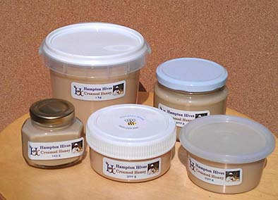 Range of Creamed Honey